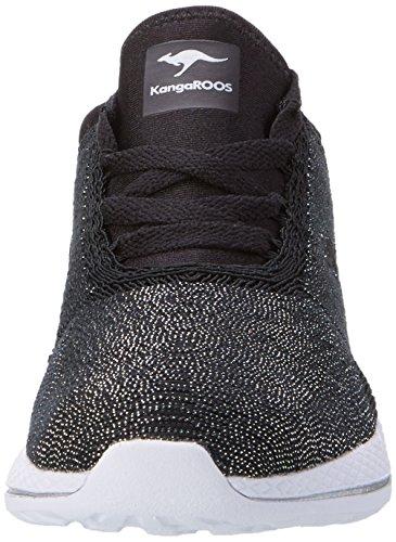 Black W Noir 517 Baskets KangaROOS 500 Femme BaXnwz