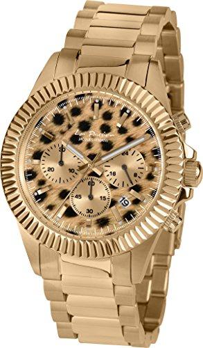 Jacques Lemans La Passion LP-111O Wristwatch for women Leopard look