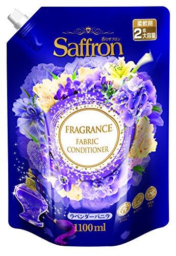 향기《샤프론》 사프론 일본 섬유유연제 대용량 리필교환 lavender 바닐라 의 향기 1100ML