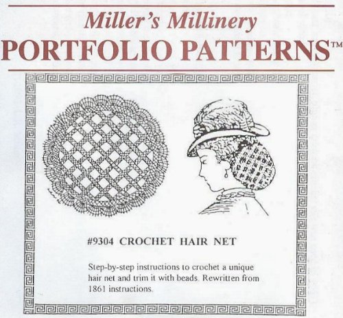 1800's Western Costumes (1800's Crochet Hair Net Pattern)