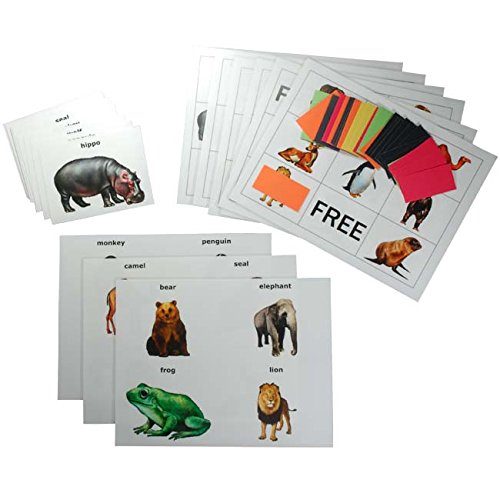 Games for Older Adults Keeping Busy Animal Picture Matching and Bingo Dementia and Alzheimers Engaging Activities Puzzles