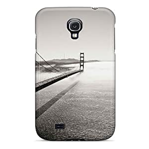 Awesome Case Cover/galaxy S4 Defender Case Cover(beautiful Bridges Free Into The Fog) by icecream design