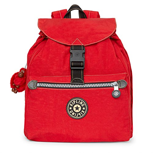 Kipling Women's Keeper Backpack One Size Reds (Backpack Kipling Red)
