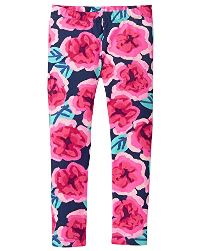 Gymboree Little Girls' Basic Print Legging, Large Floral Print, M by Gymboree