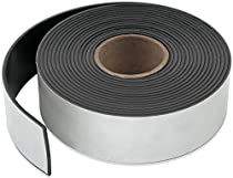 Master Magnetics ZG60A-A10BX Flexible Magnet Strip with Adhesive Back, 1/16