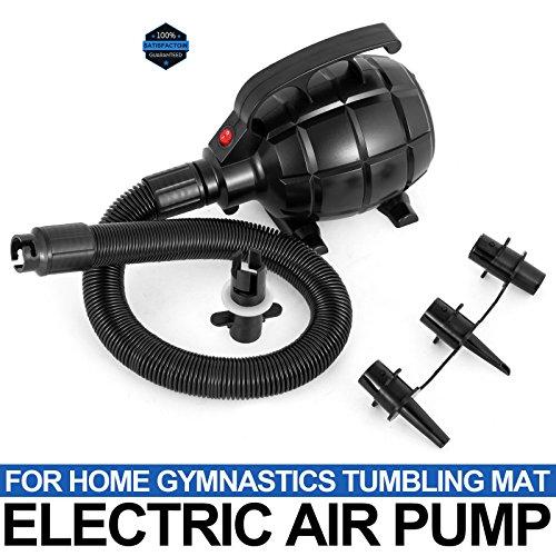 Niomerg Inflatable Home Gymnastics Air Track Tumbling Mat Electric Air Pump only
