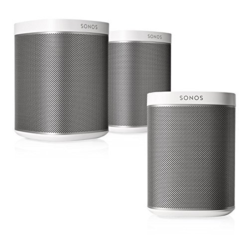 Sonos Play 1 Multi Room Digital Music System Bundle  3   Play 1 Speakers    White