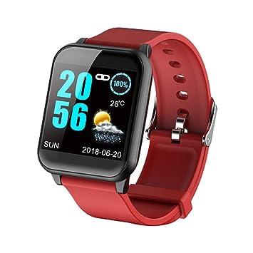 Reloj Bluetooth con pulsera inteligente, IP67 a prueba de agua, Agitar para tomar fotografías