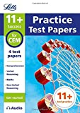 Letts 11+ Success – 11+ Practice Test Papers (Get started) for the CEM tests inc. Audio Download