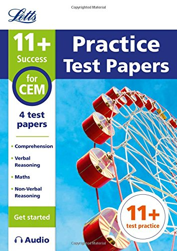 Letts 11+ Success – 11+ Practice Test Papers (Get started) for the CEM tests inc. Audio Download by HarperCollins UK