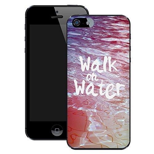 Walk on Water   Christlich   Handgefertigt   iPhone 5 5s   Schwarze Hülle