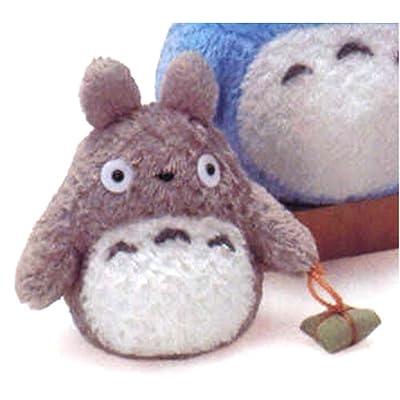 "My Neighbor Totoro 5.75"" Tall Small Grey Totoro Plush By Sun Arrow: Toys & Games"