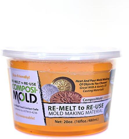 ComposiMold RE-MELT to RE-USE Mold Making Material | 20 oz. 1 pcs sku# 1874620MA