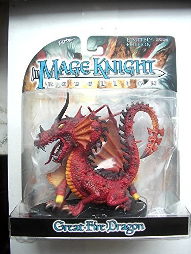 Great Fire Dragon (Mage Knight) (Knight Mage Dragons)