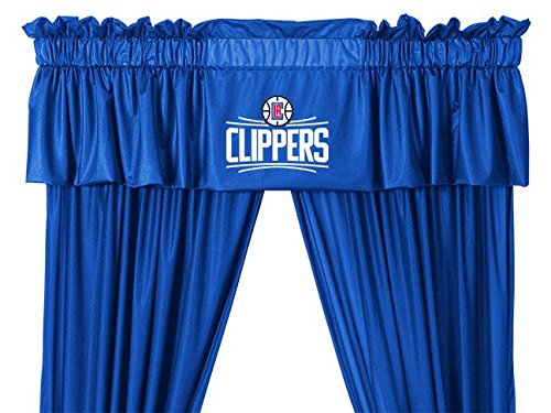 Sports Coverage NBA Los Angeles Clippers Youth Valance, 88 x 14, Bright Blue