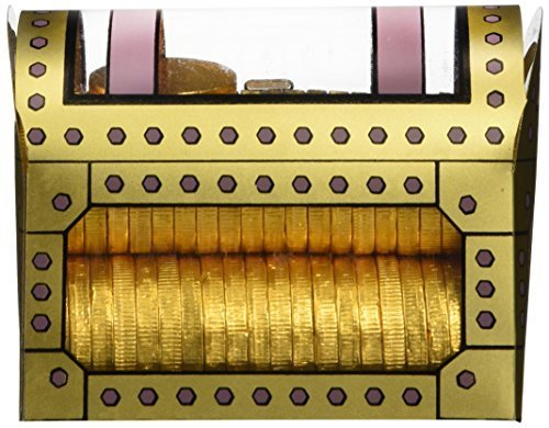 Pirate Treasure Chest Full of Gold (Chocolate Coins)! by Chocolate Coins & Poker Chips
