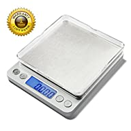 Next-shine 500g 0.01g 0.001oz Top Digital Pocket Kitchen Food Jewelry Weight Compact Scale with Tare…