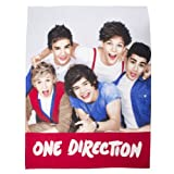 One Direction Couverture en laine polaire manie une Direction
