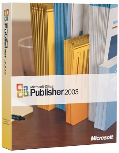 Microsoft Publisher 2003 OLD VERSION