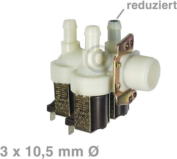 Magnético Válvula 3 Compartimento Válvula para lavadora Miele W803 ...