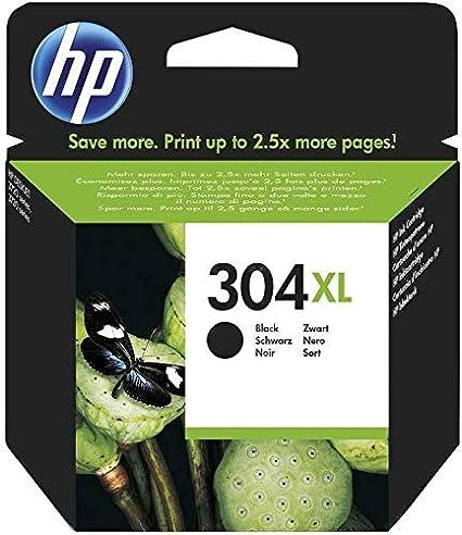 HP N9K08AE 304XL Cartucho de Tinta Original de alto rendimiento, 1 ...