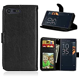 case for sony xperia x compact pu leather. Black Bedroom Furniture Sets. Home Design Ideas