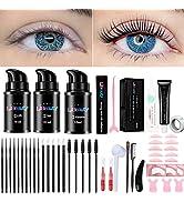 Libeauty Lash Lift And Tint At Home, Eyelash Lift Kit With Black color, lash Perm And Dye Kit, Pr...