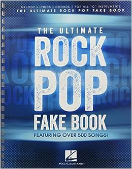 The ultimate rock pop fake book hal leonard corp 0884088205126 the ultimate rock pop fake book hal leonard corp 0884088205126 amazon books fandeluxe Gallery
