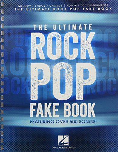 The Ultimate Rock Pop Fake - Fake Book Ultimate