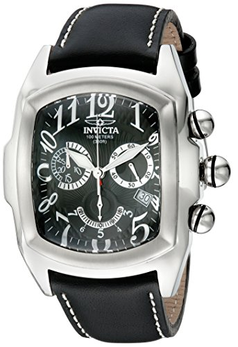 Lupah Swiss - Invicta Men's 18442 Lupah Analog Display Swiss Quartz Black Watch