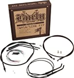 Burly B30-1004 Cable/Brake Line Kit for 14'' Height Apehanger Handlebars