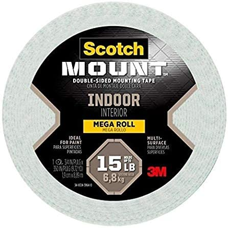 Scotch Indoor Double Sided Mounting Tape