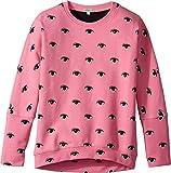 Kenzo Kids Girl's Eyes Sweatshirt (Big Kids) Bubble 16A (16 Big Kids)