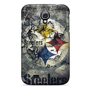 Samsung Galaxy S4 Uaq18275MGjH Custom Fashion Pittsburgh Steelers Series Scratch Protection Cell-phone Hard Covers -SherriFakhry