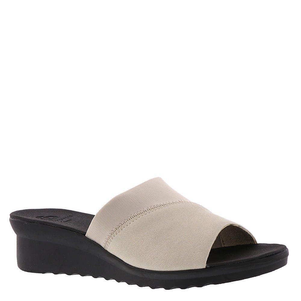 CLARKS Women's Caddell Ivy Slide Sandal B07BGDMJ67 6.5 C/D US|Champagne