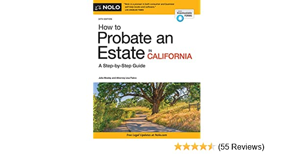 Amazon how to probate an estate in california ebook julia amazon how to probate an estate in california ebook julia nissley lisa fialco kindle store solutioingenieria Gallery