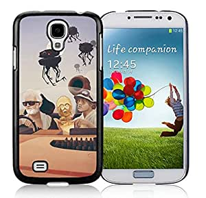 Beautiful Designed Cover Case For Samsung Galaxy S4 I9500 i337 M919 i545 r970 l720 With Fear and Loathing on Tatooine Black Phone Case
