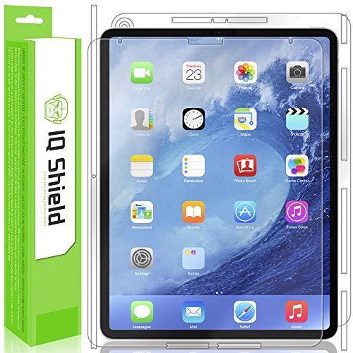 IQShield iPad Pro 12.9 Screen Protector, LiQuidSkin Full Body Skin + Full Coverage Screen Protector for iPad Pro 12.9 (2018) HD Clear Anti-Bubble Film