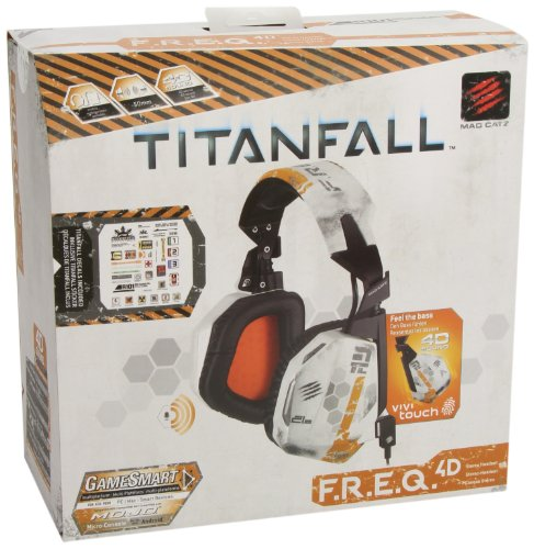 Price comparison product image Mad Catz Titanfall F.R.E.Q.4D Stereo Headset for PC,  Mac,  and Smart Devices