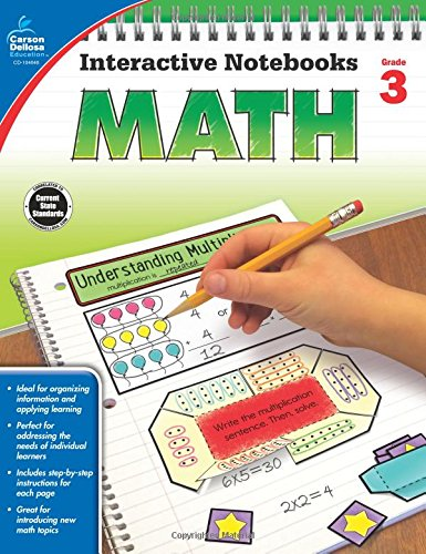 Math, Grade 3 (Interactive Notebooks)