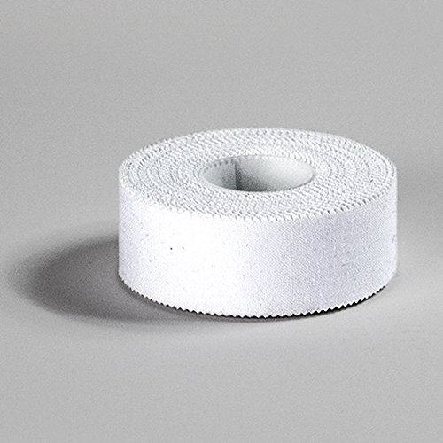Thai Boxing Cricket Kickboxing Hockey and Martial Arts MMA Rugby M.A.R International Boxing Hand Tape 2.5cm Roll Plain White Strapping Zinc Oxide Finger Thump Hand Wrist wrapping used in Boxing