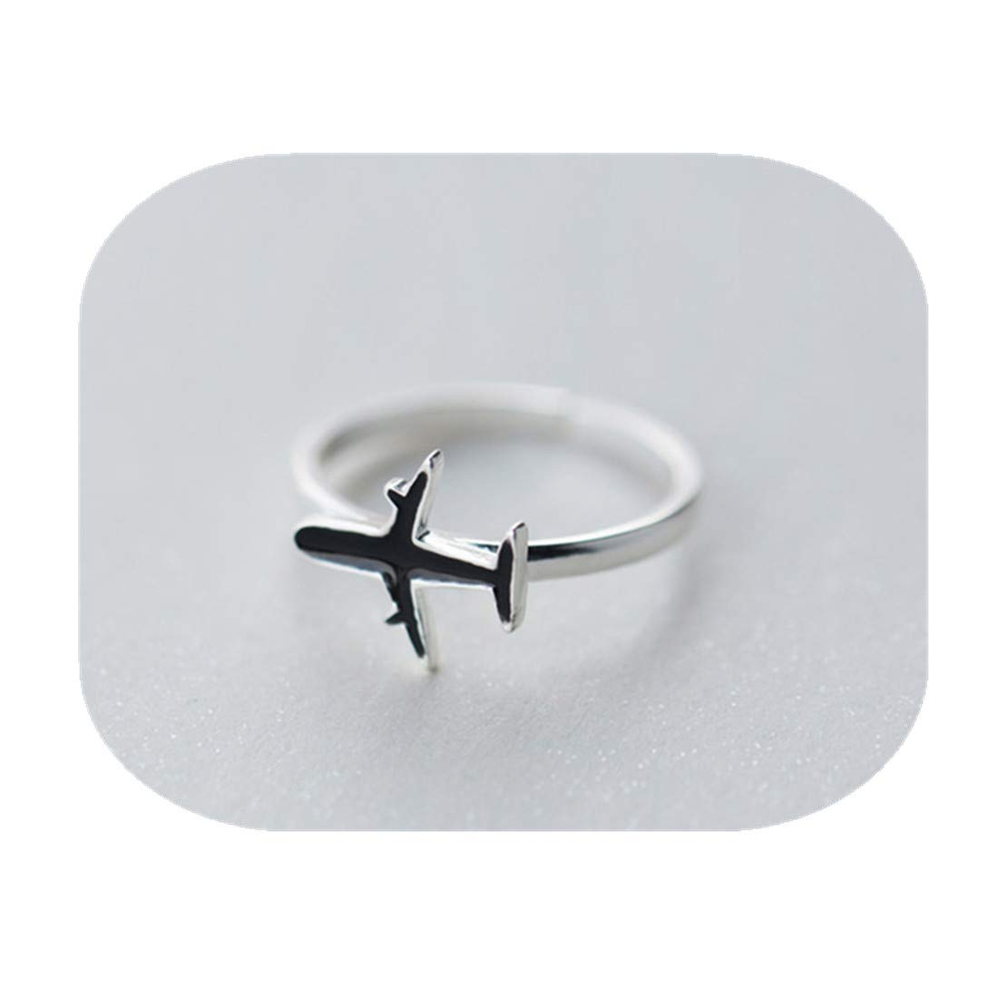 kakupao Plane Airplane Aeroplane Travel Ring, Travel Traveller Journey Gift World Aviation