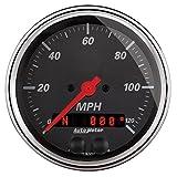 Auto Meter (1449) Designer Black 3-3/8'' 120 MPH GPS Speedometer Gauge
