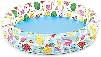 "Intex Inflatable Stars Kiddie 2 Ring Circles Swimming Pool (48"" X 10"") [Assorted Styles]"