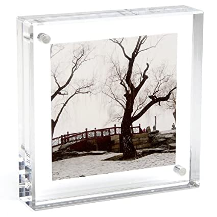 Amazon.com: ORIGINAL MAGNET FRAME by CANETTI - SQUARE 4\