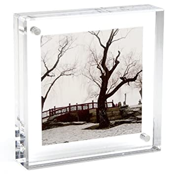 original magnet frame by canetti square 8x8 inch