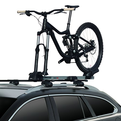 INNO INA392 Universal Mount (Fits Rounds, Square, Aero and Most Factory Bars) Multi-Fork Locking Bike Rack (1-Bike) ()