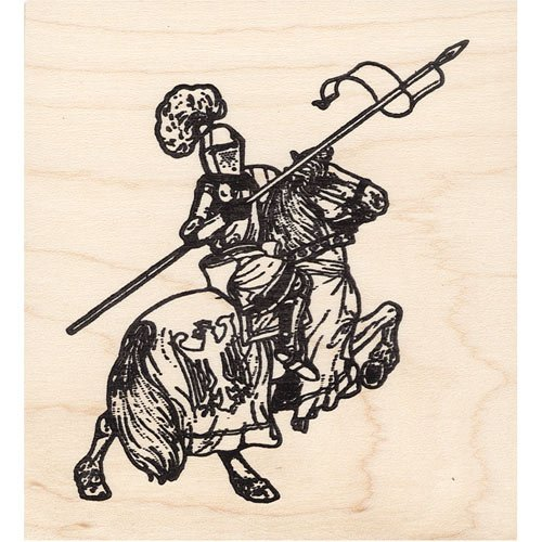 Royal Rubber Stamp - Knight on Horse Rubber Stamp