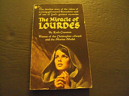 - The Miracle of Lourdes, Burnadette by Ruth Cranston 1955 Print PB