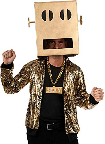 Lmfao Shuffle Bot Halloween Costume (Shuffle Bot Party Rock Anthem Costume - X-Large - Chest Size)